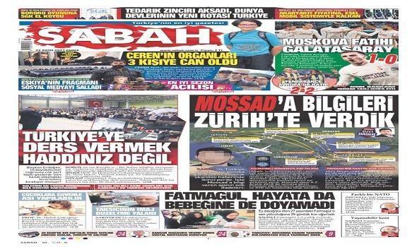 العرب اليوم - صحيفة تركية تنشر صور 15 متهما بالتجسس لصالح الموساد