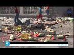 العرب اليوم - بالفيديو استهداف موكب محافظ عدن ومدير الشرطة فيها بسيارة مفخخة