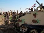 العرب اليوم - القوات العراقية ترفع العلم العراقي على الأطراف الجنوبية لمدينة الفلوجة