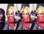 العرب اليوم - شاهد حلا الترك تستفز والدها بفيديو جديد مع والدتها