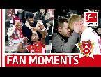 لقطات تستحق المشاهدة للجماهير الألمانية مع اللاعبين