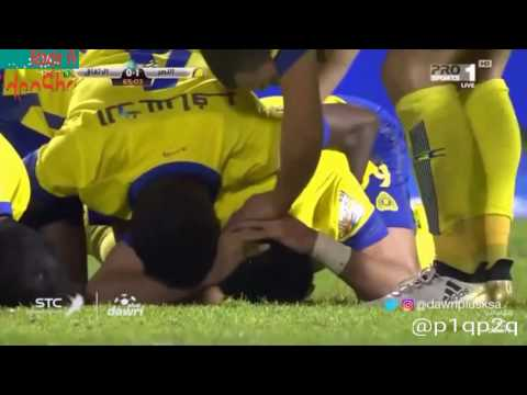 العرب اليوم - بالفيديو نادي النصر يهزم نظيره الإتفاق بهدفين نظيفين