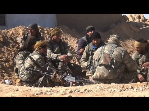 العرب اليوم - شاهد قوات سورية الديموقراطية تتقدم باتجاه مدينة الرقة