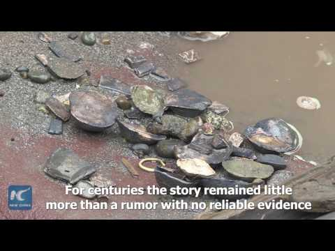 العرب اليوم - شاهد اكتشاف الكنز الغارق في الصين