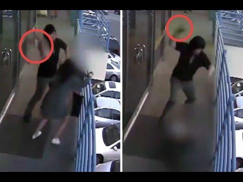 العرب اليوم - شاب يعتدي بوحشية على امرأة بمطرقة