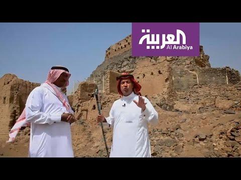 العرب اليوم - بالفيديو تعرف على قصة السفينة التي ترسو على جبل في خيبر