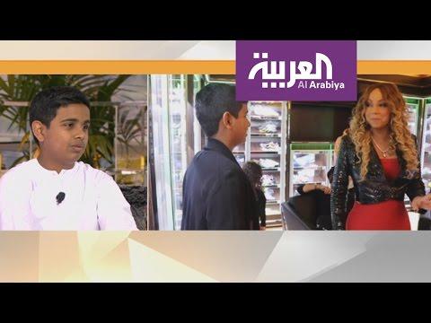 العرب اليوم - شاهد راشد بالحصا مراهق إماراتي اشتهر باستضافته النجوم واستعراض ثرائه