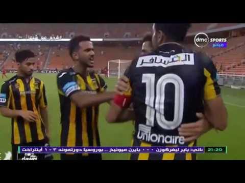 العرب اليوم - لحظة ارتداء محمود كهربا شارة كابتن فريق اتحاد جدة