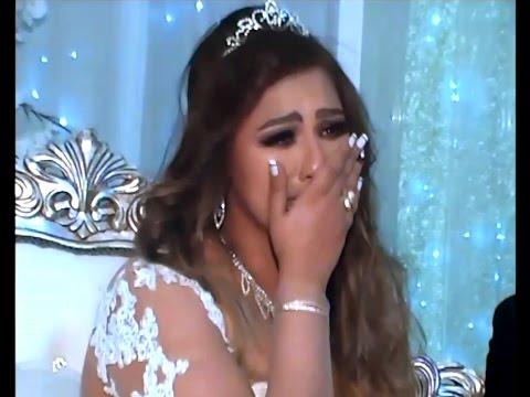 العرب اليوم - بالفيديو انهيار عروس مصرية من البكاء بسبب تأثرها بمفاجأة أخوتها لها