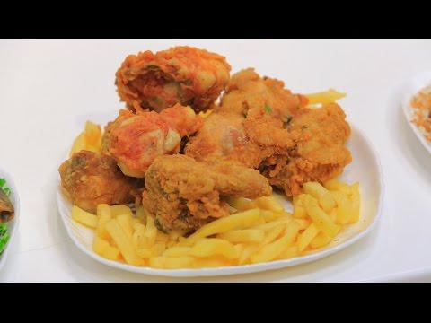 العرب اليوم - شاهد طريقة إعداد دجاج مقرمش