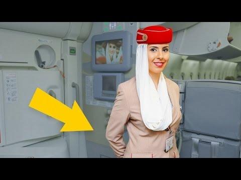 العرب اليوم - شاهد لماذا تضع مظيفة الطيران يدها خلف ظهرها