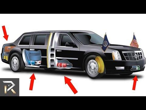 العرب اليوم - شاهد سيارة الرئيس الأميركي دونالد ترامب المضادة للهجمات النووية