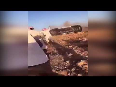 العرب اليوم - العناية الإلهية تنقذ شابا من حادث سير مروع