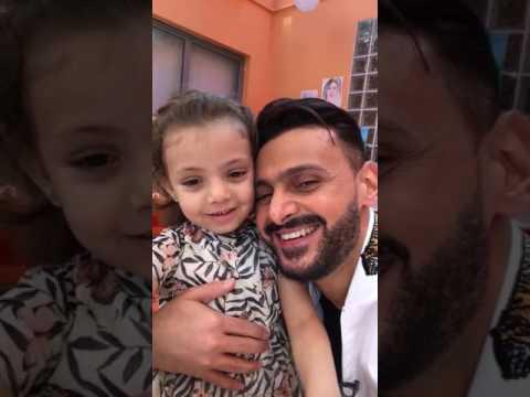 العرب اليوم - رامز جلال ينشر فيديو له مع طفلة مريضة بالسرطان عبر يوتيوب