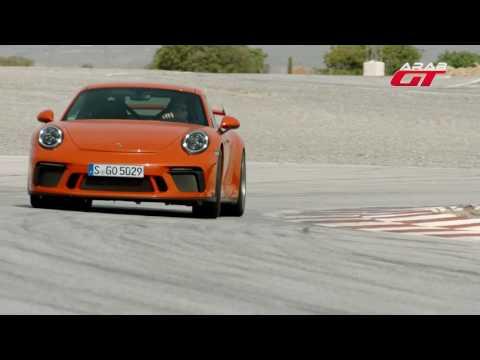 العرب اليوم - بالفيديو تعرف على تسارع بورش 911 جي تي 3
