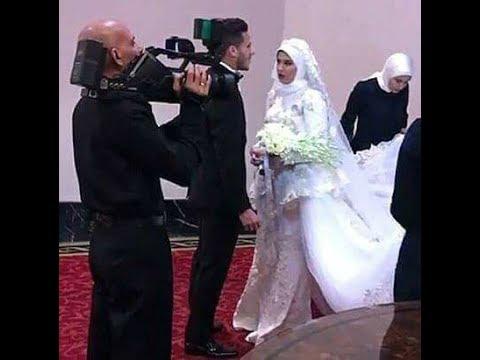 العرب اليوم - شاهد أول لقطات من فرح رمضان صبحي