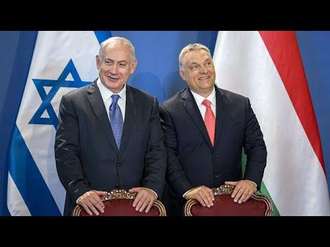 العرب اليوم - شاهد نتنياهو في زيارة تاريخية إلى بودابست مسقط رأس هرتزل
