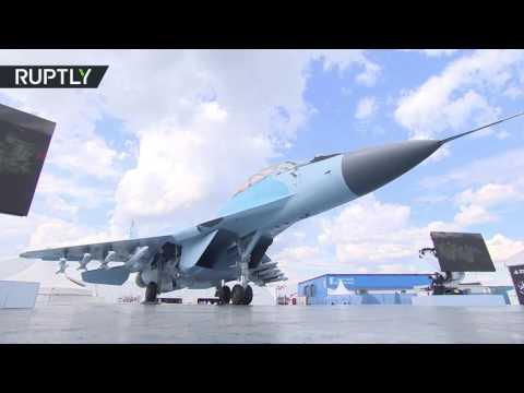 العرب اليوم - الكشف عن مقاتلة حديثة في معرض ماكس للطيران