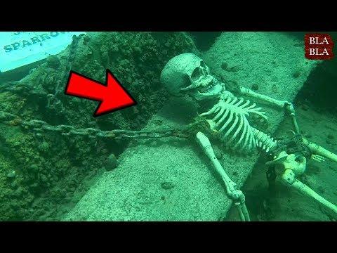 العرب اليوم - شاهد 5 أشياء مخيفة عثر عليها تحت الماء