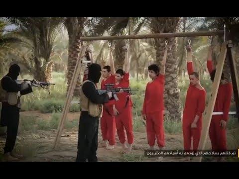 العرب اليوم - بالفيديو  تنظيم داعش ينشر إصدارًا لإعدام مقاتلين من الجيش الحر