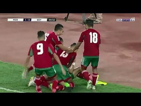 العرب اليوم - الهدف الأول للمنتخب المغربي في مرمى نظيره المصري