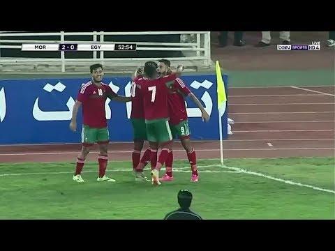 العرب اليوم - الهدف الثاني للمنتخب المغربي في مرمى نظيره المصري