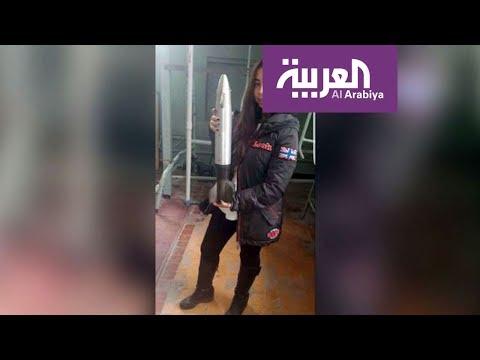 العرب اليوم - شاهد فتاة مصرية تقتحم مجال الفضاء