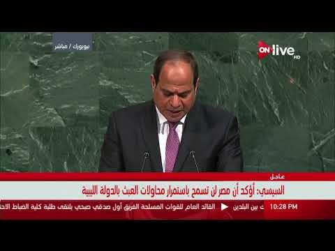العرب اليوم - شاهد السيسي يؤكّد أنّ الوقت حان لمعالجة شاملة للقضية الفلسطينية