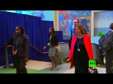 العرب اليوم - شاهد لحظة وصول وفود العالم إلى مقر الأمم المتحدة في نيويورك