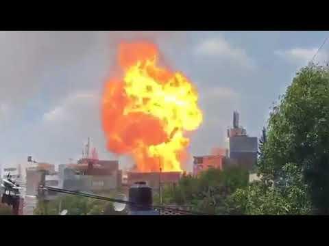 العرب اليوم - شاهد المشاهد الأولية لهلع المواطنين والدمار في المكسيك