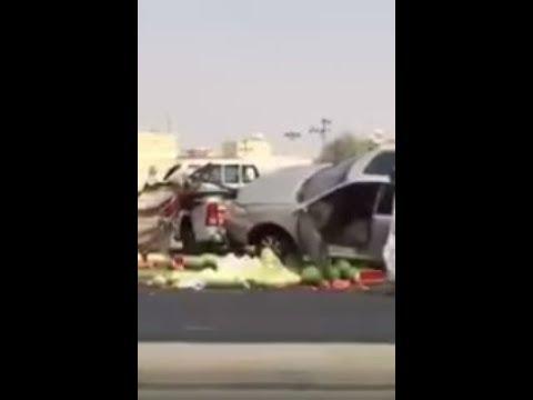العرب اليوم - سعودي يتسبّب في حادث تصادم لانشغاله بهاتفه