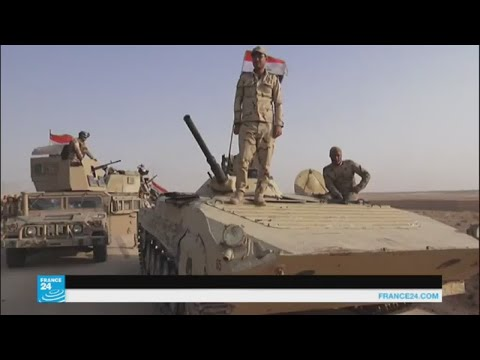 العرب اليوم - شاهد القوات العراقية تبدأ عملية عسكرية لاستعادة قضاء عانة في الأنبار