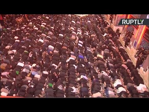 ملايين المسلمين تحيي ذكرى أربعينية الأمام الحسين في كربلاء