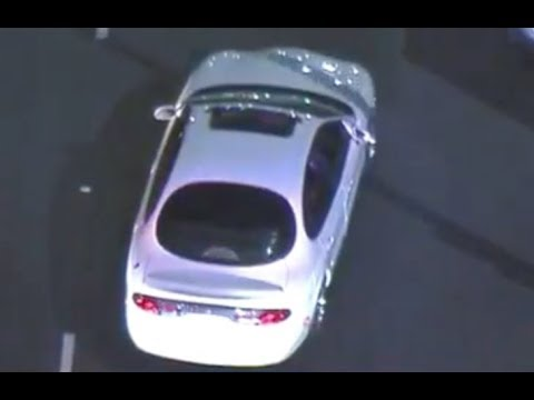 شاهد مطاردة مثيرة بين شرطة كاليفورنيا وأحد المتهمين