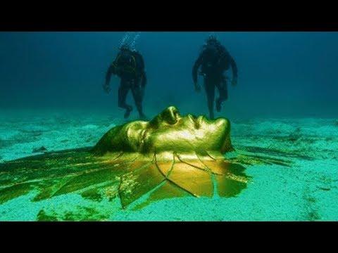 شاهد حقيقة وجود حضارة تحت أعماق المحيط
