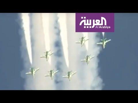 شاهد ختام فعاليات معرض الطيران في الرياض بعروض جوية
