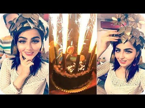 شاهد شيماء قاسم تحتفل بعيد ميلادها في مطعم بيكاسو