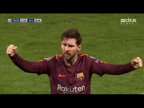 شاهد  برشلونة يتعادل مع بهدفٍ لكلٍ منهما