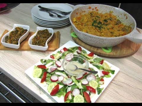 مائدة غداء صحية متكاملة وبسيطة جدًّا