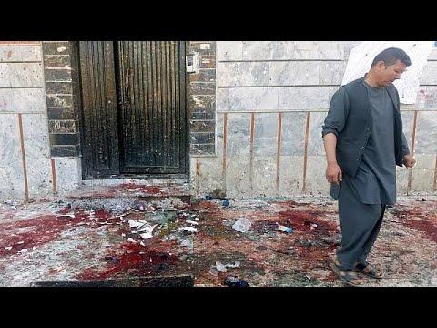 شاهد انفجار يهزّ العاصمة الأفغانية كابول تبنّاه داعش