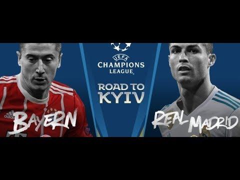 شاهد بث مباشر لمباراة ريال مدريد وبايرن ميونيخ