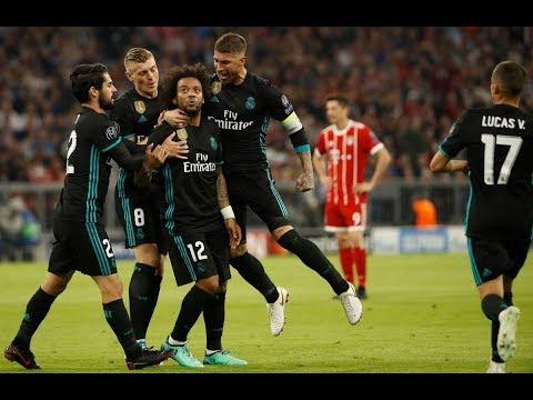 شاهد  ملخص مباراة ريال مدريد وبايرن ميونخ في دوري أبطال أوروبا