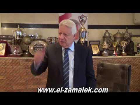 شاهدمرتضى منصور يفتح النار على ممدوح عباس