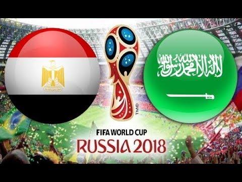 مباراة السعودية ومصر بتعليق عصام الشوالي
