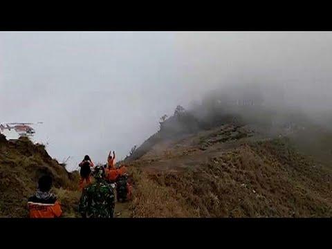 اللحظات الأولى للزلزال المدمّر الذي ضرب أندونيسيا