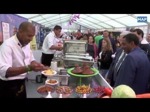 مشاركة متميزة للمغرب في معرض الطبخ في بروكسيل