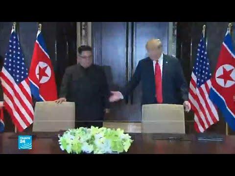 بالفيديوتفاؤل أميركي بمستقبل العلاقات مع كوريا الشمالية