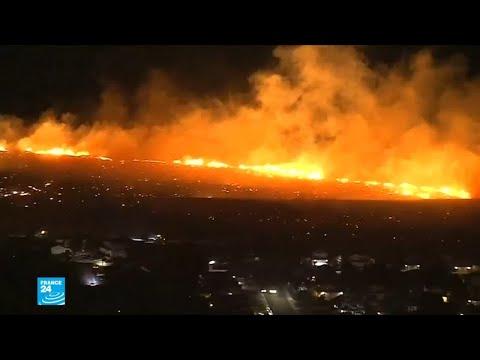 شاهد سقوط عشرات القتلى ومئات الجرحى في حرائق كاليفورنيا