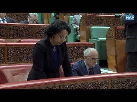 شاهد  مونية بوستة تؤكّد حرص وزارتها على الإرتقاء بالعمل القنصلي