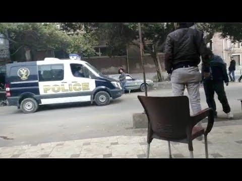 شاهدلحظة وصول جثامين المعدومين في قضية النائب العام المصري لمشرحة زينهم